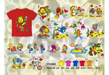 Immagine di T-Shirt baby Pesci-Sardegna 10/12