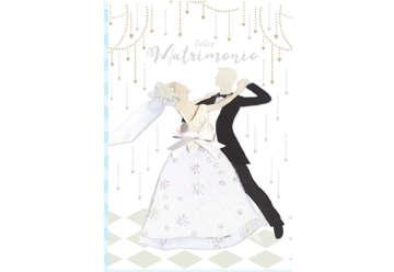 Immagine di Biglietto matrimonio special con foil