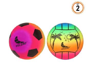 Immagine di Pallone Calcio PVC 21.5cm 2 assortiti