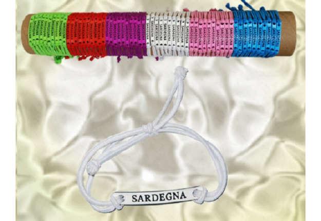 Immagine di Bracciale elasticizzato Sardegna colori assortiti 60pz