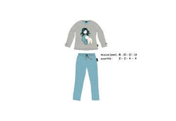 Immagine di Santoro pigiama in caldo cotone 8 anni in scatola