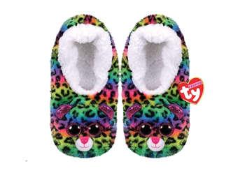Immagine di TY Pantofole morbide Dotty taglia L 35-37