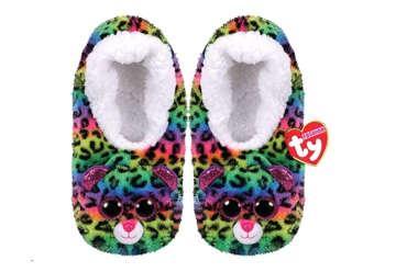 Immagine di TY Pantofole morbide Dotty taglia M 32-34