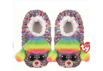Immagine di TY Pantofole sequin Rainbow paillettes Tg.33