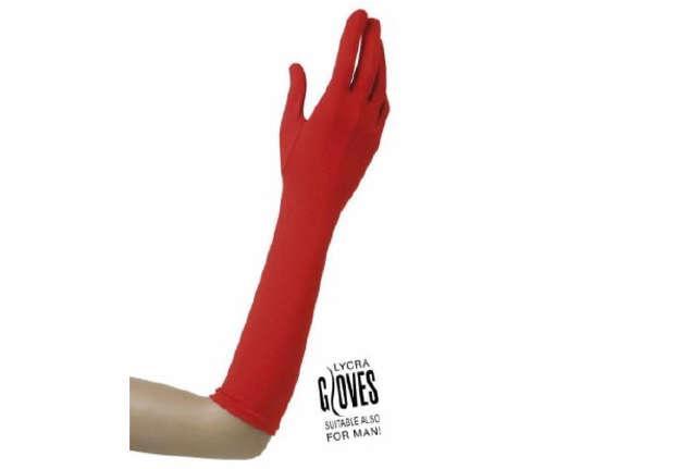 Immagine di Guanti rossi in elastan 37 cm