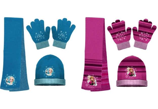 Immagine di Set invernale: sciarpa, guanti e cappello Frozen