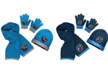 Immagine di Set sciarpa, guanti e cuffia Avengers