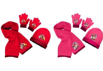 Immagine di Set sciarpa, guanti e cuffia Minnie