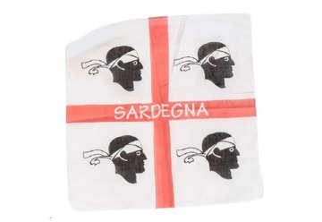 Immagine di Bandana cotone Sardegna 4Mori 50x50cm