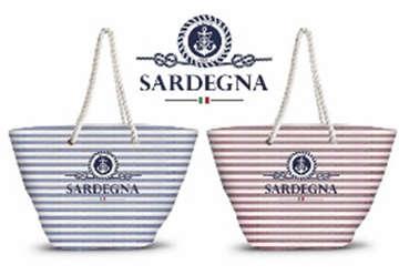 Immagine di Borsa mare TC Cotton Sardegna 49x32cm