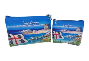 Immagine di Set 2 Pochette Rettangolari Sardegna