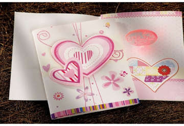 Immagine di Biglietto Auguri musicale cuore