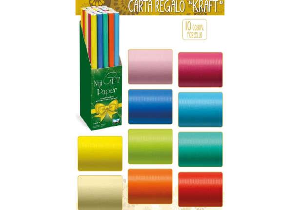 Immagine di Rotolo carta regalo kraft 70 x 200