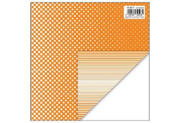 Immagine di Foglio carta regalo 70x100 fantasy colore arancione