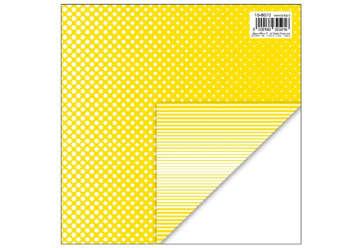 Immagine di Foglio carta regalo 70x100 fantasy colore giallo