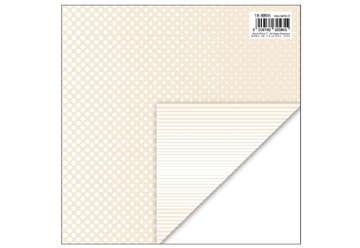 Immagine di Foglio carta regalo 70x100 fantasy colore panna