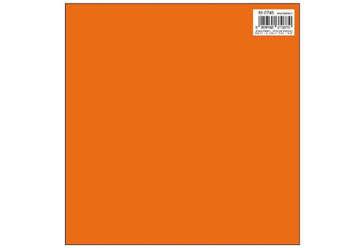 Immagine di Foglio carta regalo 70x100 tinta unita colore arancio