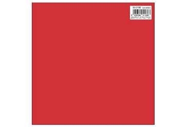 Immagine di Foglio carta regalo 70x100 tinta unita colore rosso