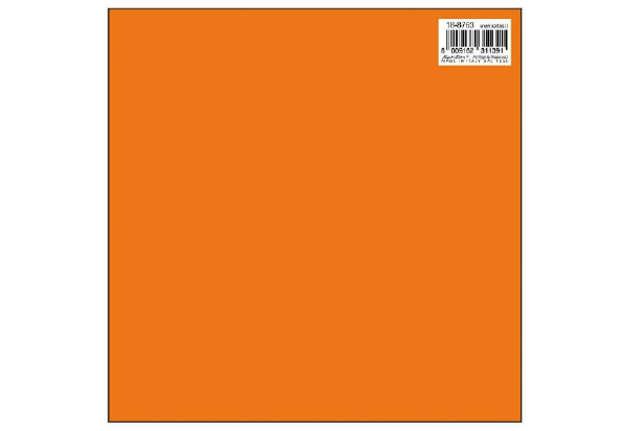Immagine di Foglio carta regalo 70x100 tinta unita kraft colore arancio