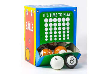 Immagine di Pallina caram balls PVC  Ø 60 (30 pz)
