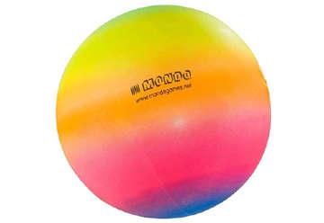 Immagine di Pallone mini Rainbow gonfio Ø 140