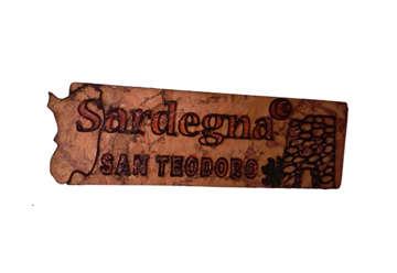 Immagine di Magnete in sughero Sardegna - San Teodoro