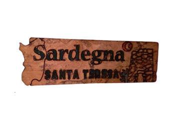 Immagine di Magnete in sughero Sardegna - Santa Teresa