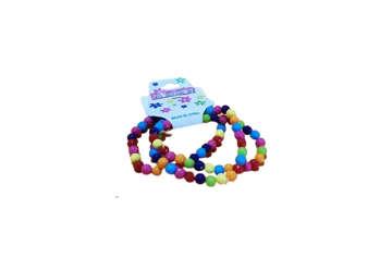 Immagine di Bracciale bimba palline in plastica