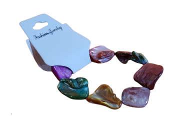 Immagine di Bracciale con conchiglie colorate
