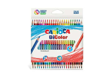 Immagine di Carioca bi-color box 24 pz