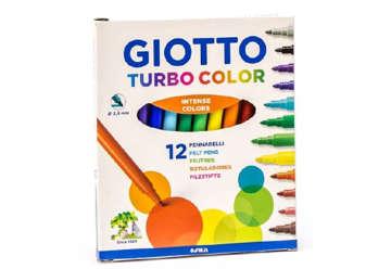Immagine di Fila Giotto pennarelli turbo color 12pz