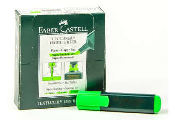 Immagine di Textliner evidenziatore ricaricabile verde