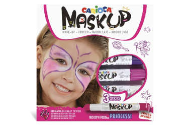 Immagine di Carioca mask up fairy 3 pz