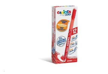 Immagine di Carioca oops eras colore rosso box 12 pz