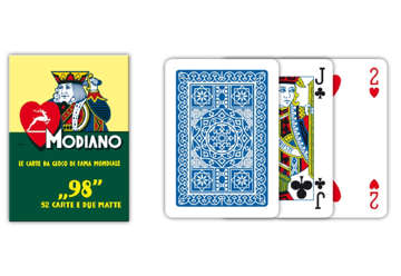 Immagine di Carte poker 98 blu