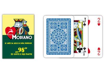 Immagine di Carte poker 98 blu