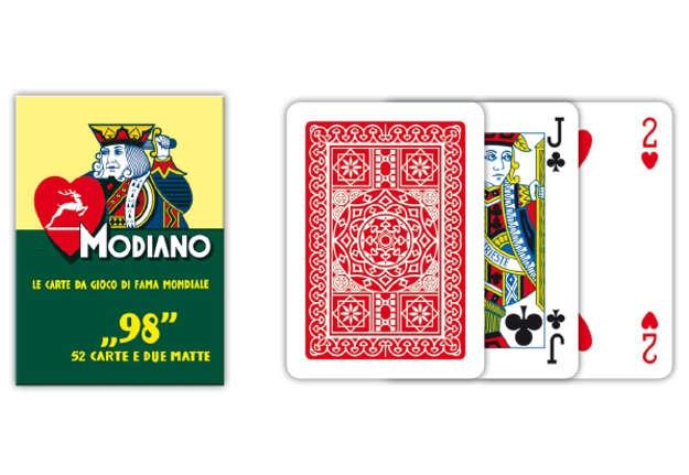 Immagine di Carte poker 98 rosso
