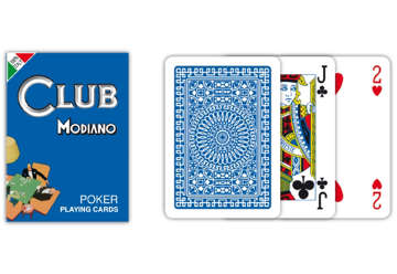 Immagine di Carte poker club blu