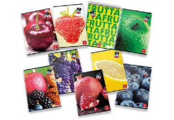 Immagine di Quaderno A4 Pigna fruits 1R