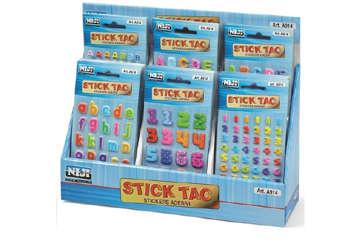 Immagine di Espositore stick tac 48 bustine assortite
