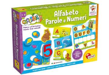 Immagine di Carotina maxi - Alfabeto, parole e numeri