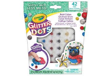 Immagine di Glitter dots - Colori Vivaci - Classici - Tropicali