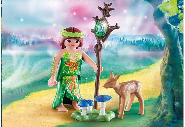 Immagine di Fata con cervo