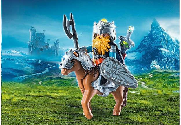 Immagine di Guerriero con cavallo corazzato