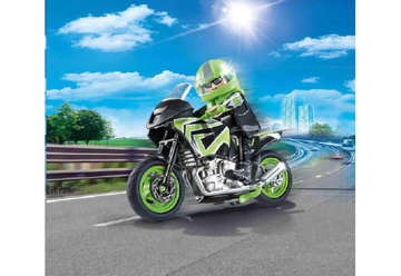 Immagine di Motociclista