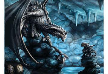 Immagine di Puzzle 3D Age of dragons: Rock Dragon 500pc