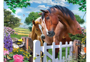 Immagine di Puzzle 3D H. Robinson: At the Garden gate 500pz