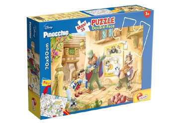 Immagine di Puzzle supermaxi Pinocchio 35pz
