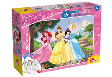 Immagine di Puzzle supermaxi Princess 35pz