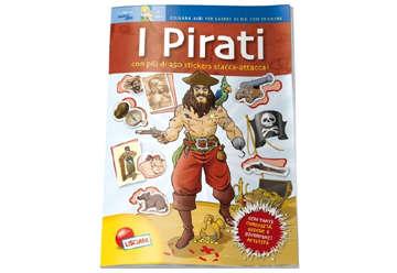 Immagine di Albi per sapere di più - I pirati con stickers